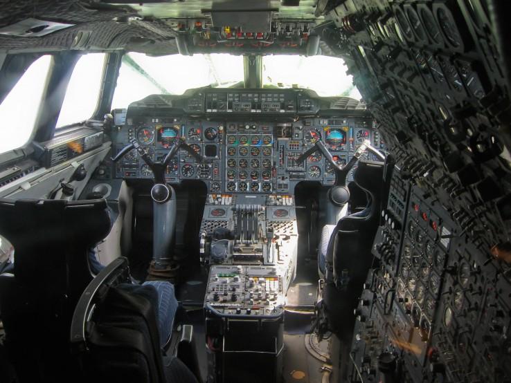 Concorde pilótafülke
