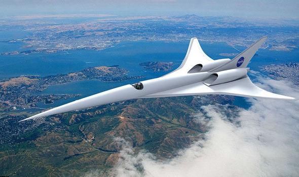 NASA Concorde