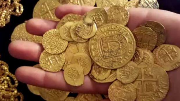 Spanyol arany Florida partjainál