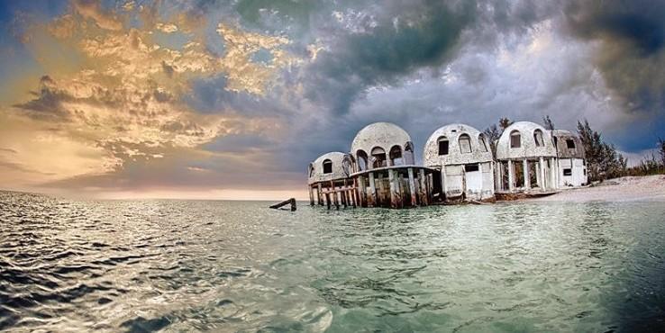 A misztikus süllyedő házak