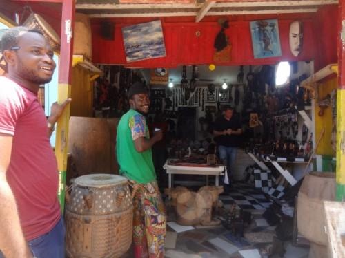 Accra, Ghana, Art Market