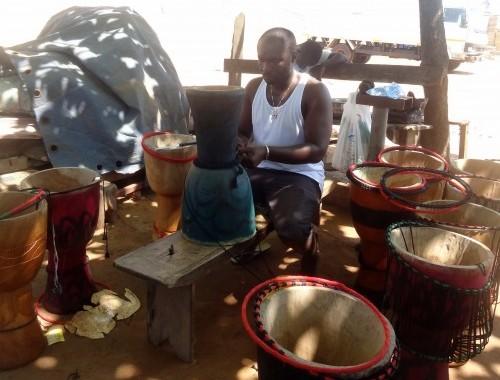 Dob készítés, Accra, Ghana