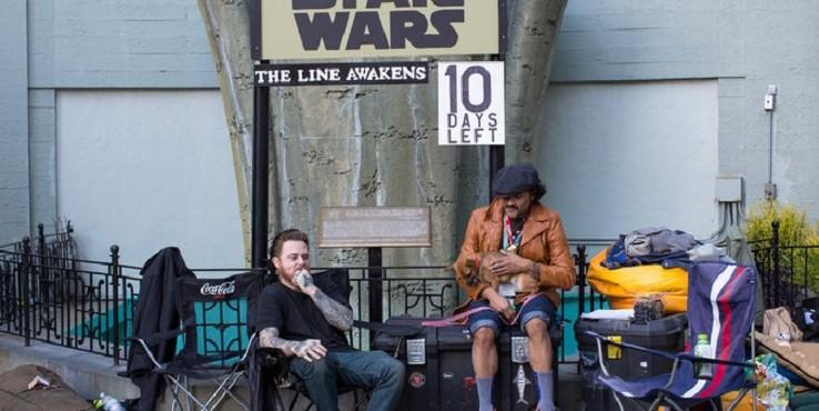 A Star Wars-rajongók már gyülekeznek a film premierjére