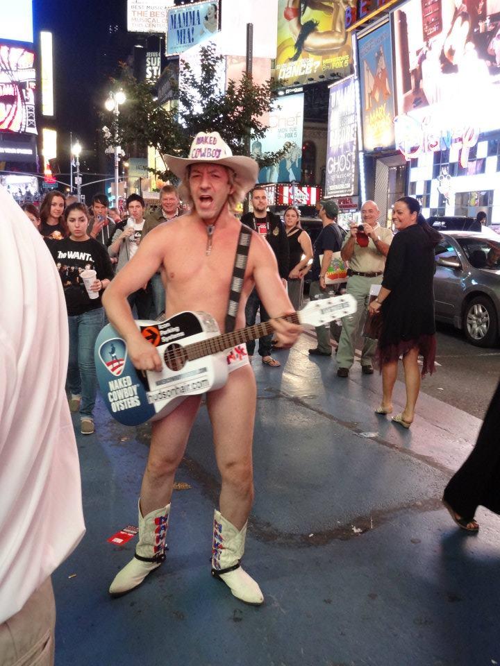 Naked Cowboy (Fotó: Gabriella Veres)