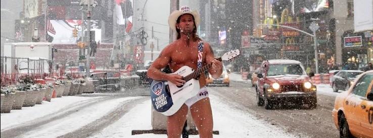 Naked Cowboy, Manhattan legismertebb látványossága