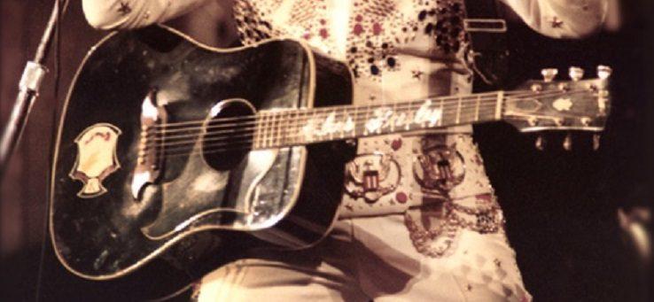 Elkelt Elvis Presley ikonikus gitárja