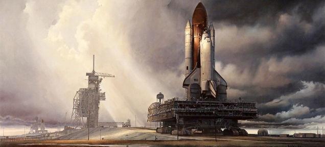 Magyar művész, aki halhatatlanná tette az amerikai űrhajózást