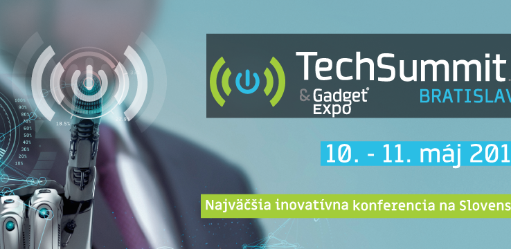 Invitation to the international TechSummit in Bratislava